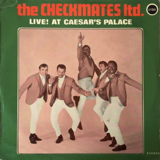 Checkmates Ltd. (The) ‎- Live! At Caesar's Palace (LP) (VG+/G+)